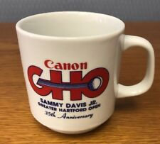 35th Canon GHO Sammy Davis Jr Greater Hartford Golf Coffee Cup Mug HTF