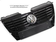 VW PASSAT 2006-2011 FRONT RADIATOR GRILLE ( NO PDC ) GLOSS BLACK 3C0853651AD-NEW