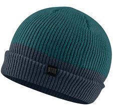 NEW Nike Two Tone Beanie Green /Blue 547765-348 Cap Running Skateboarding Unisex