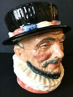 """Royal Doulton BEEFEATER D6206 Large Toby Character Jug Mug 1946 Retired 6"""" tall"""