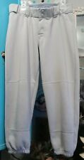 Worth Ladies' Fastpitch Softball Pants, Sz Large, gray Preloved With wear