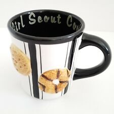 I Love Girl Scout Cookies Mug Coffee Cup 2007 Scouts 3D Style Ceramic Thin Mints