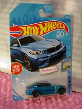 2016 BMW M2 #121 US 50✰candy blue; gray pr5✰2018 Hot Wheels case G