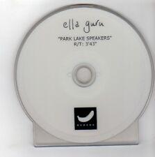 (GE620) Ella Guru, Park Lake Speakers - DJ DVD