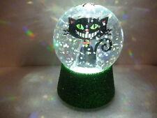 Hallmark Gift Bag Halloween Black Cat Lighted Snow Globe FREE Ship NEW