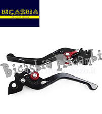 9145 - LEVERS BRAKE AND CLUTCH PM PRO STREET BLACK VESPA 125 ET3 PRIMAVERA