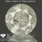 0.87 cts. CERTIFIED Round Brilliant Off White Color Loose Natural Diamond 25097