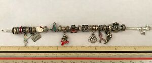 """Estate 8"""" SEE DESCRPTION Charm Bracelet Kay Jewelers MA Michael Anthony sterling"""