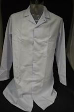 White Food Industry Kitchen Hygiene Overall Coat Size Medium NEW