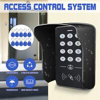 RFID Zugangskontrolle 125KHz &10 Clips Türschloss Türöffner Digitale Codeschloss