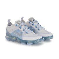 NIKE KIDS AIR VAPORMAX 2019 - UK 3/US 3.5/EUR 35.5 - LIGHT BLUE/WHITE AJ2617-100