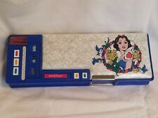 vintage disney snow white pencil box 5 push button pull out compartments