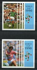 S6286) Dominica 1990 MNH World Cup Football '90 - S/S