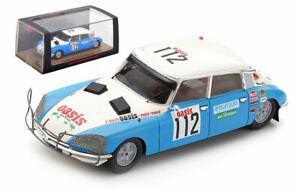 Spark S5539 Citroen DS 23 #112 Paris Dakar Rally 1980 - Claude Delles 1/43 Scale