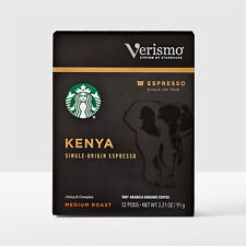 Starbucks Kenya Espresso Roast Coffee Verismo 144 count **read description**