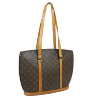 LOUIS VUITTON BABYLONE SHOULDER TOTE BAG PURSE MONOGRAM VI0996 M51102 33439