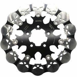 Galfer Front Full-Floating Skull Brake Rotor - Harley Softail Dyna & Sportster