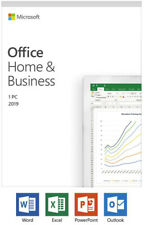Genuine Microsoft Office Home & Business 2019 1 User Activation Key 1 PC
