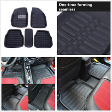 5pc Universal Car Floor Mats FloorLiner Front &Rear Carpet All Weather Mat Cover