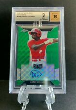 2018 Leaf Metal MARCO LUCIANO Green Wave Prismatic Auto RC 5/5 Giants BGS 9 10