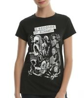 Mesdames 5 S Of Summer 5SOS colorant Scribble Officiel Tee T-Shirt Pour Femme Filles