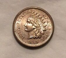 """1859 Indian Head Cent - Incredible Brilliant """"BLASTING LUSTER"""" #10226"""