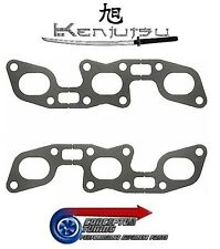 New Kenjutsu Head to Exhaust Manifold Gasket Set of 2- For Z32 300ZX VG30DETT