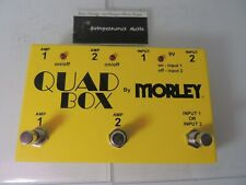 Morley Quad Box Amp Switcher Pedal Guitar Amplifier Selector Free USA Shipping