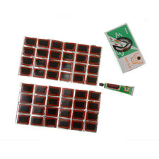 High Quality 48x Bicycle Tyre Tube Rubber Patches Puncture Repair Patch Kit Glue