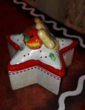 Villeroy e Boch Natale  scatola stella pocellana  Winter bakery decoration