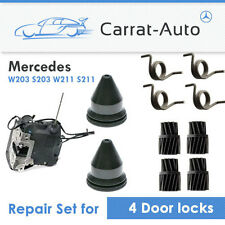 Mercedes C / E Class W203 W211 DOOR LOCK REPAIRKIT SET -  for 4 locks