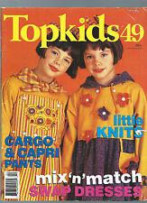 TOPKIDS #49 SEWING cargo pants mix&match dresses lots more