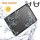 50W Large Solar Panel 12V Portable Battery Charger For Car Maintainer Boat RV US
