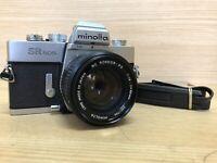 *Near Mint* Minolta SR 505 SLR Camera w/ MC Rokkor 50mm F1.4 Lens from Japan