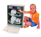 Toddler Pretend Electronic Dishwasher Realistic Activity Toy Kids 29 PC Play Set photo