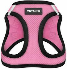 Voyager XL Dog Step In Harness, Pink Mess 21-23 Chest, Double Leash Rings