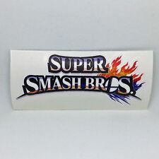 Super Smash Bros Logo Sticker Vinyl Decal - NO Nintendo 3DS Wii U N64 Game Cube