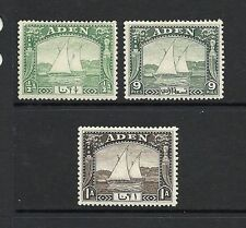 Single George VI (1936-1952) Adeni Stamps