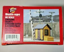 HO Scale Crossing Shanty Gate RRXing 1/87 Walthers 933-2812 Trackside Structures