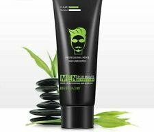 Men Deep Cleansing Bamboo Charcoal Skin Care Facial Cleanser Moisturizing