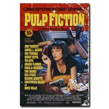 Pulp Fiction 12x8inch Classic Movie Silk Poster Art Print Wall Door Room Decals