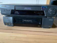 Panasonic S-VHS HiFi/ Videorekorder NV-FJ610 Und Toshiba V-414G