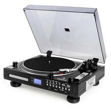 TOCADISCOS REPRODUCTOR CD USB MP3 SD CASETE GRABADOR DIGITAL DJ DISCOS -B-STOCK