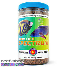 New Life Spectrum TROPICAL FISH Large Pellet 600g Fish Food Free USA Shipping