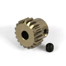 18T Titanium coated aluminium 48dp pinion gear for 1:10 RC  18 tooth 48 pitch.