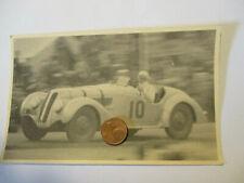 Org. Foto 50er Jahre  Oldtimer Motorsport Rennwagen mit Startnummer 10