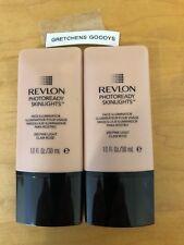 """2"" Revlon Photoready Skinlights Face Illuminator Pink Light #200 NWOB 1 oz each"