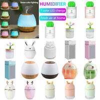 280ML USB Ultrasonic Air Humidifier Aromatherapy Essential Oil Aroma Diffusers
