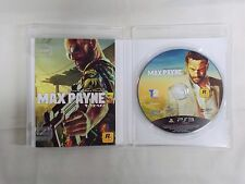 PlayStation3 -- MAX PAYNE 3 -- PS3. JAPAN GAME. Works fully!! 60164