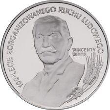 Poland / Polen 1995 - 10zl Wincenty Witos